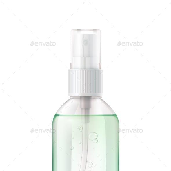 Hand Sanitizer Bottle Composition