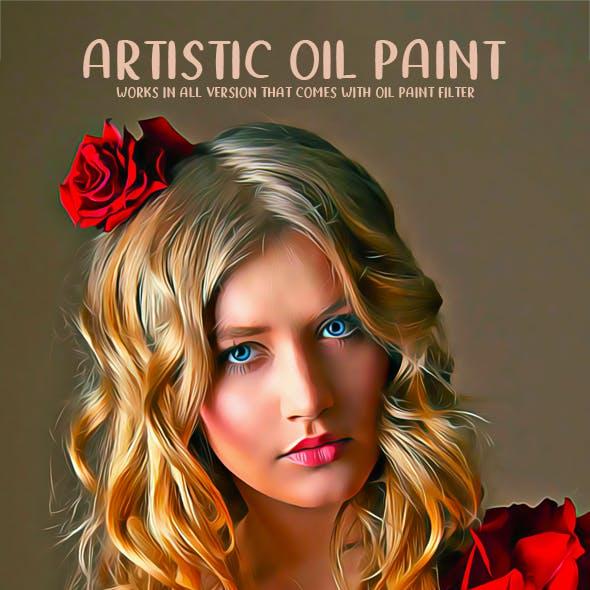 Artistic Oil Paint V2