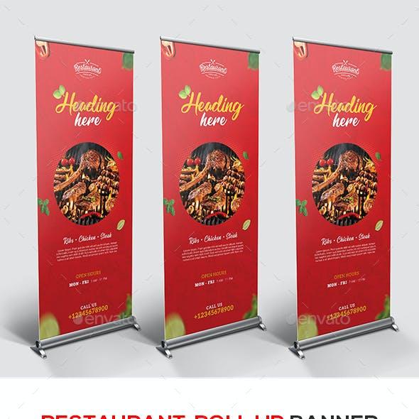 Restaurant Rollup Banner