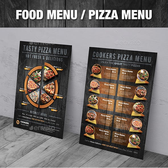 Food Menu / Pizza Menu