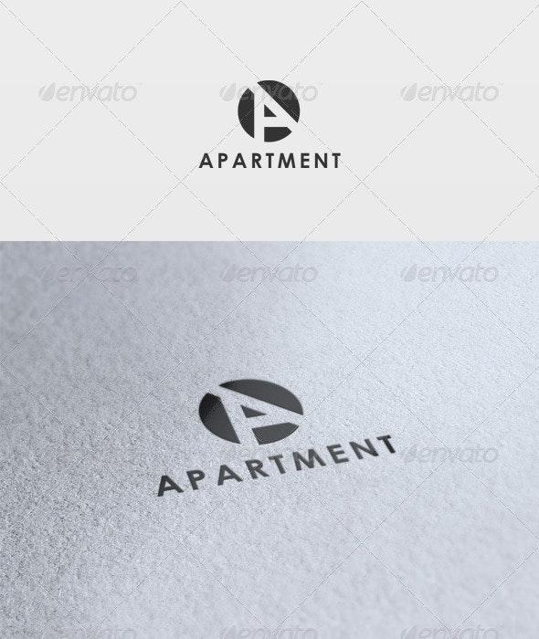 Apartment Logo - Letters Logo Templates