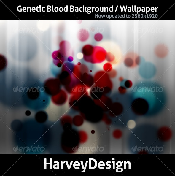 Genetic Blood Background - Backgrounds Graphics