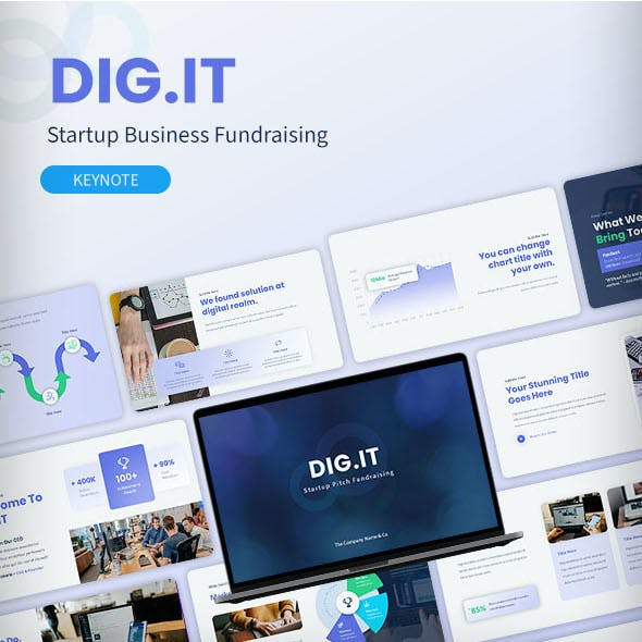 DIGIT – Startup Business Fundraising Keynote