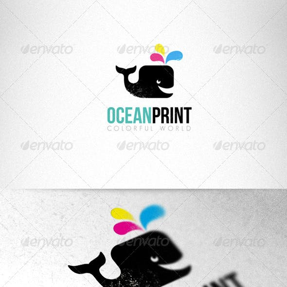Print Studio Bright Logo Template