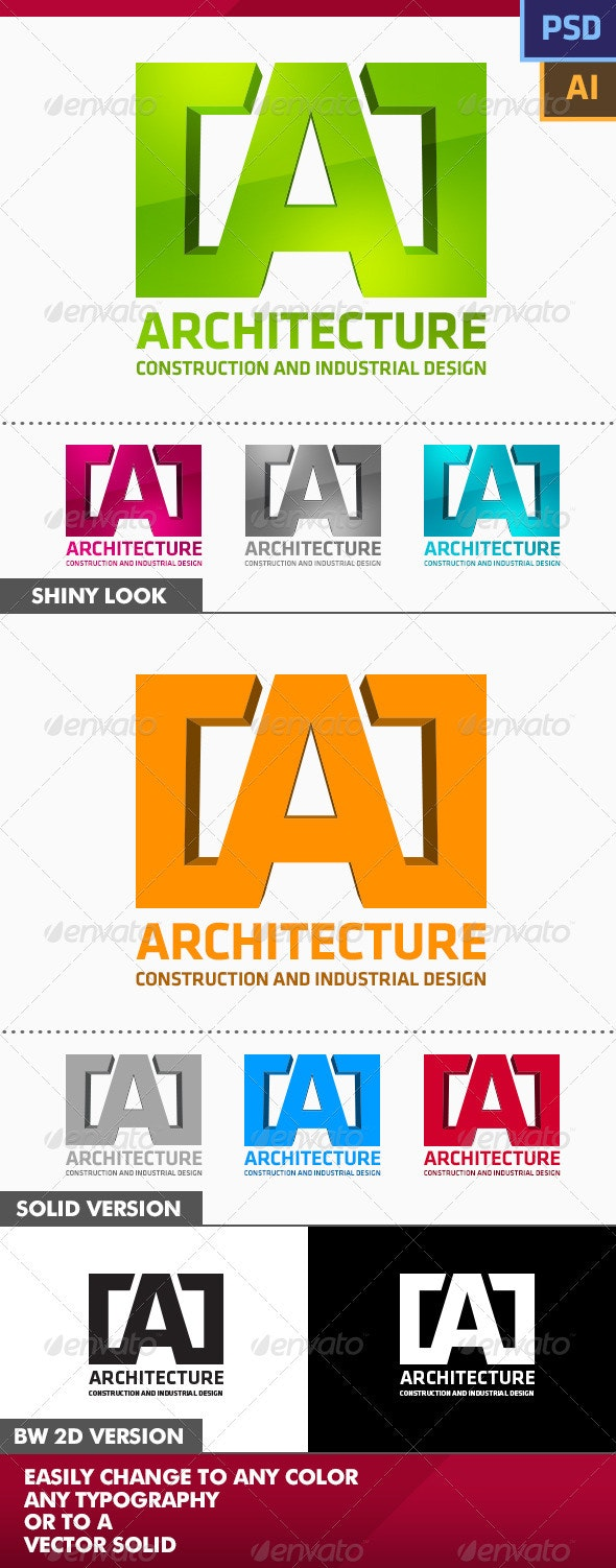 Architcture Logo - Letters Logo Templates