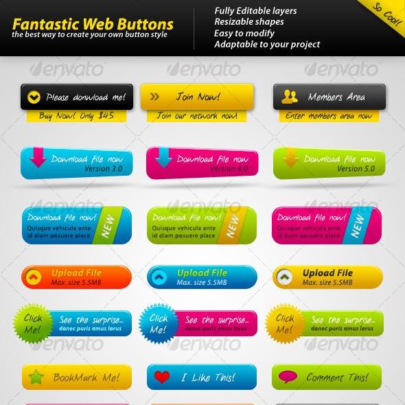 Fantastic Web Buttons