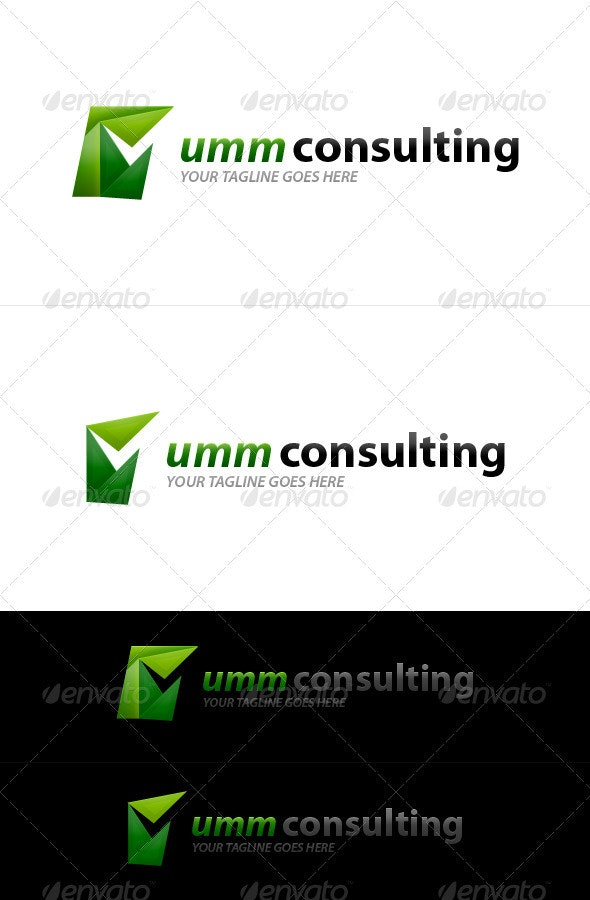Umm Consulting - Objects Logo Templates