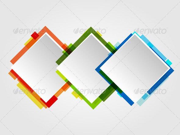 Romb Design Frames - Backgrounds Decorative
