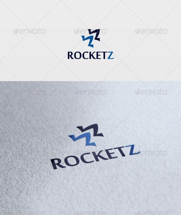 Rocketz Logo - Vector Abstract