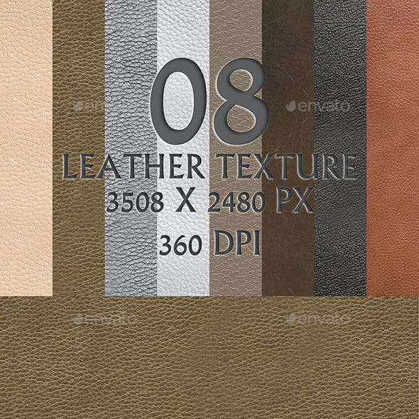 8 Leather Texture Background