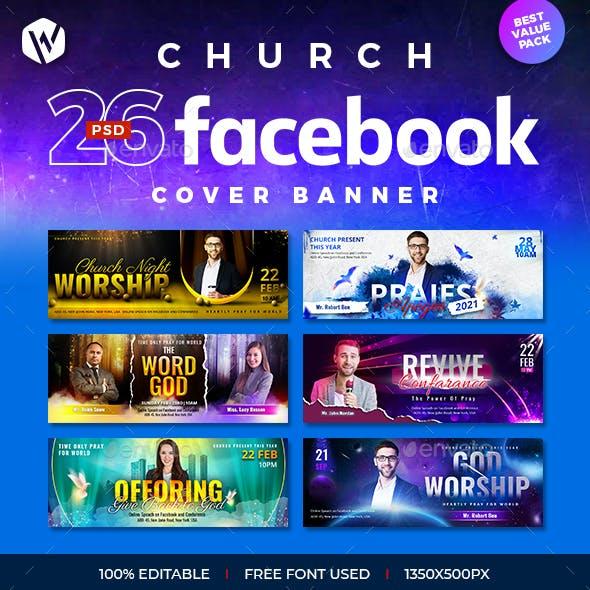 26 Church Facebook Cover Banner