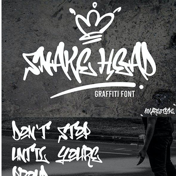 Snake Head Graffiti