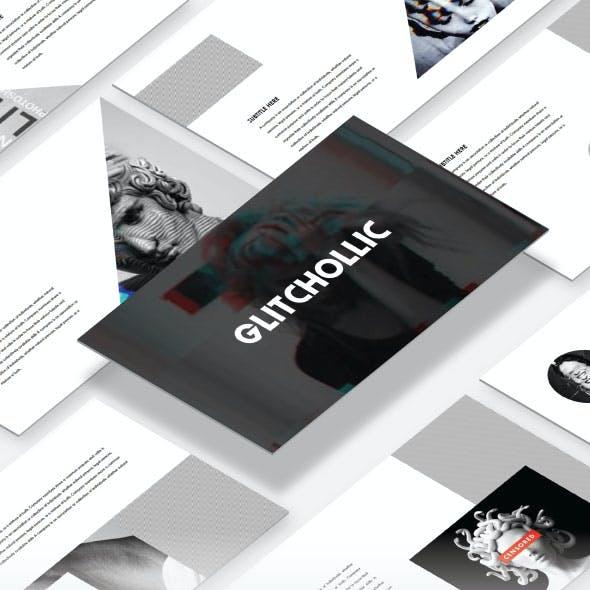 Glitchollic - Minimal Keynote Template