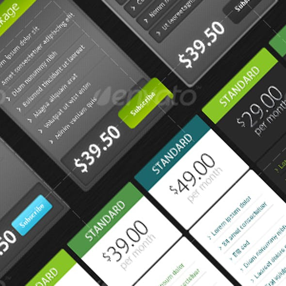 Stylish Pricing Tables