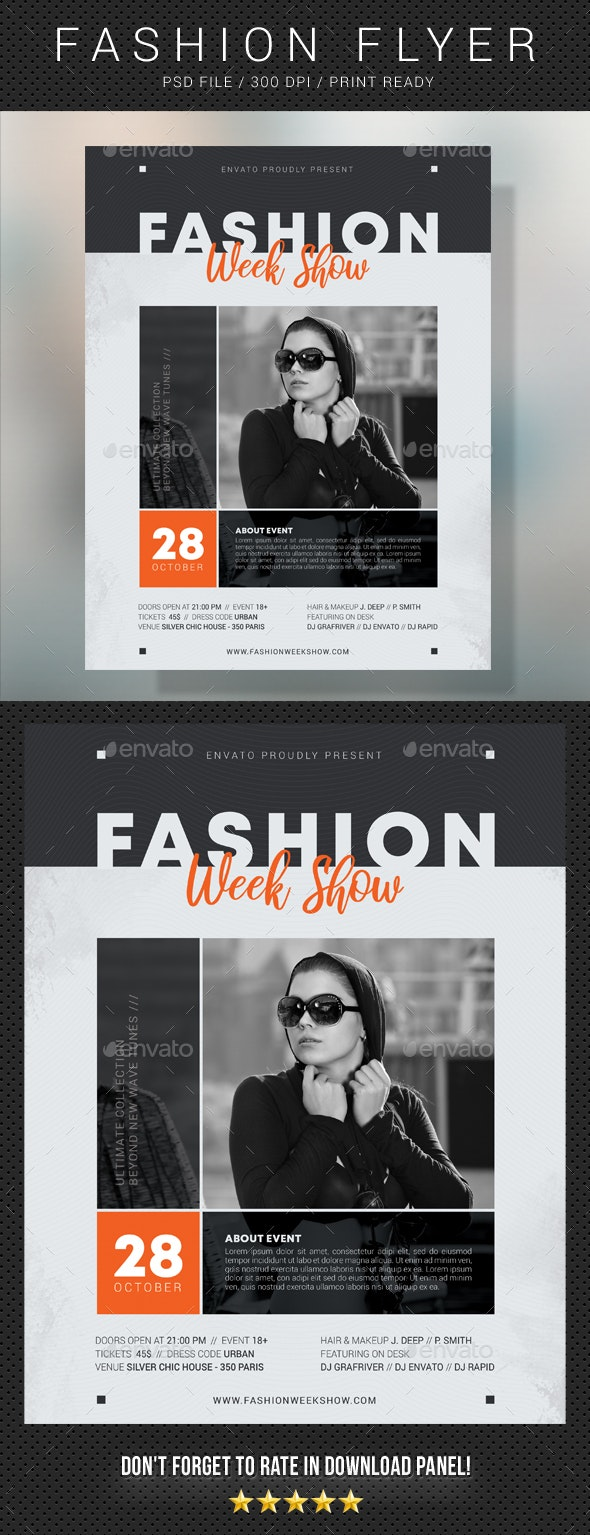 Fashion Flyer 21 - Events Flyers