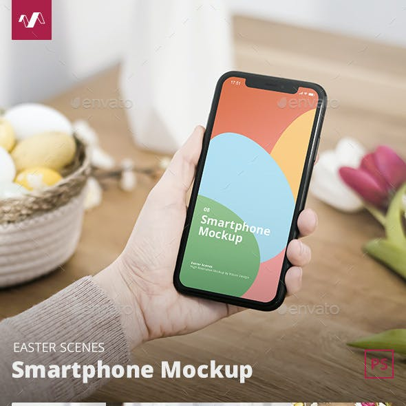 Easter Phone Mockup