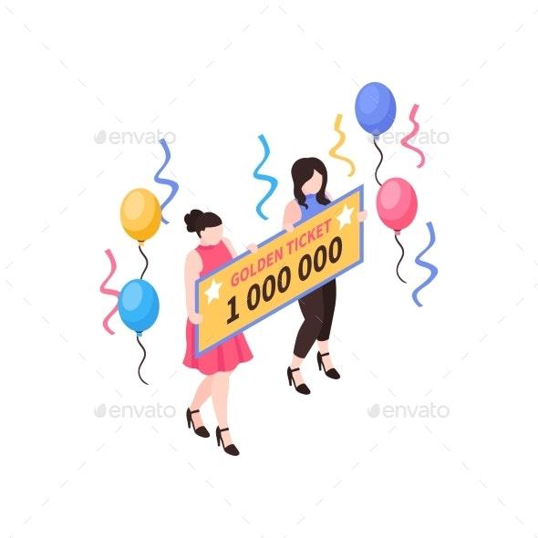 Million Prize Ticket Composition - Industries Business