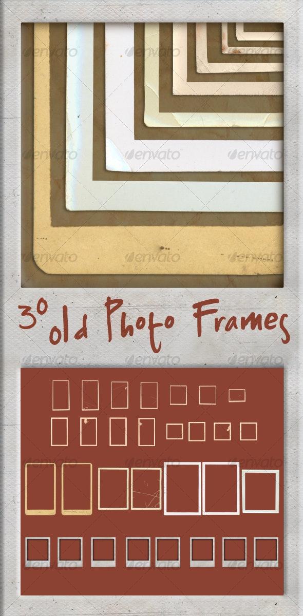 30 Old Photo Frames - Miscellaneous Photo Templates