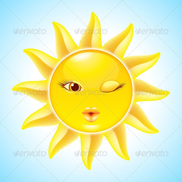 Cartoon Sun Characters - Miscellaneous Characters