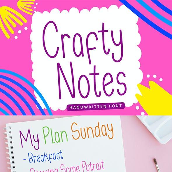 Crafty Notes
