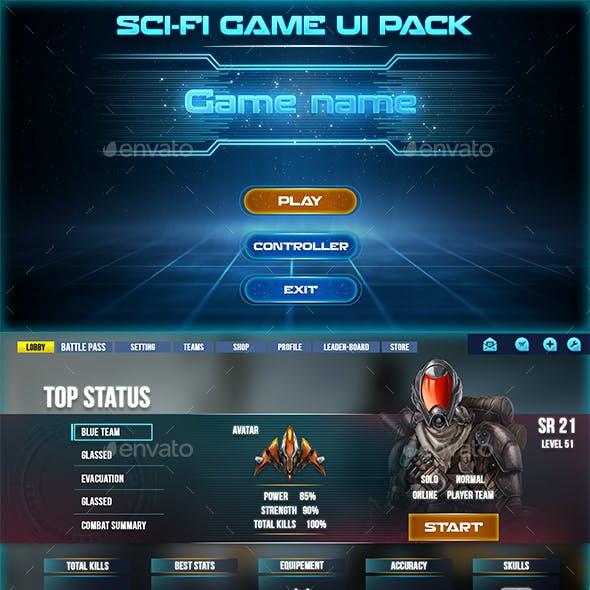 Sci-Fi Game Ui Pack