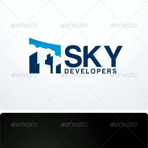 Sky Development Logo Design