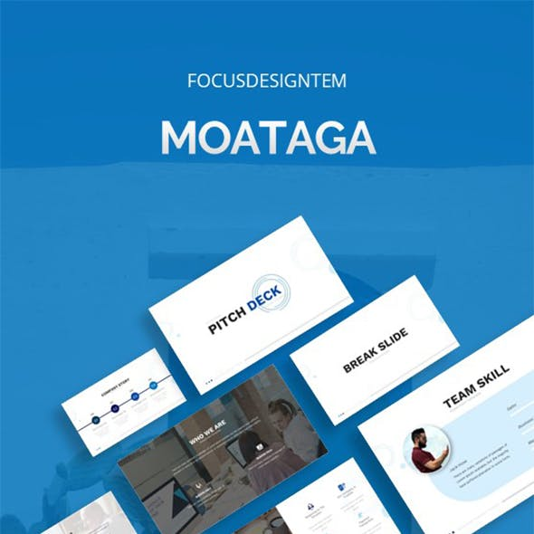 Moataga Pitch Deck  Keynote Template