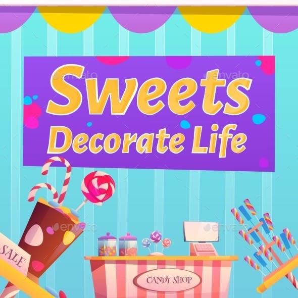Candy Shop Flyer