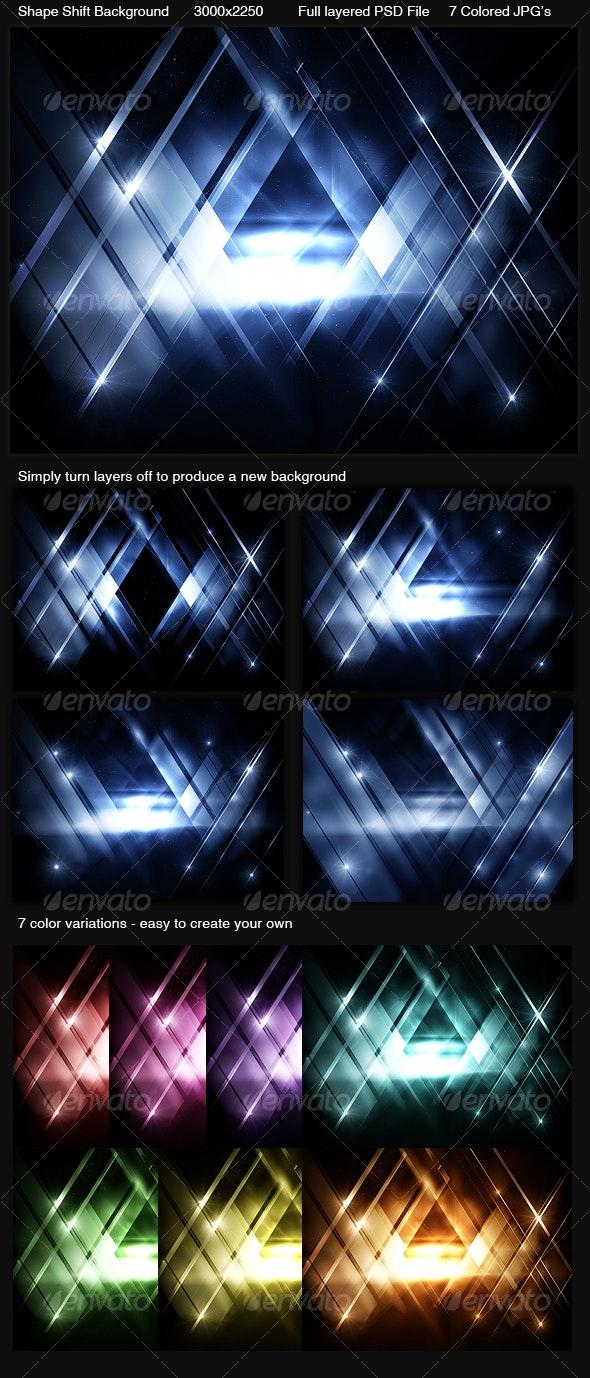 Shape Shift Background - Backgrounds Graphics