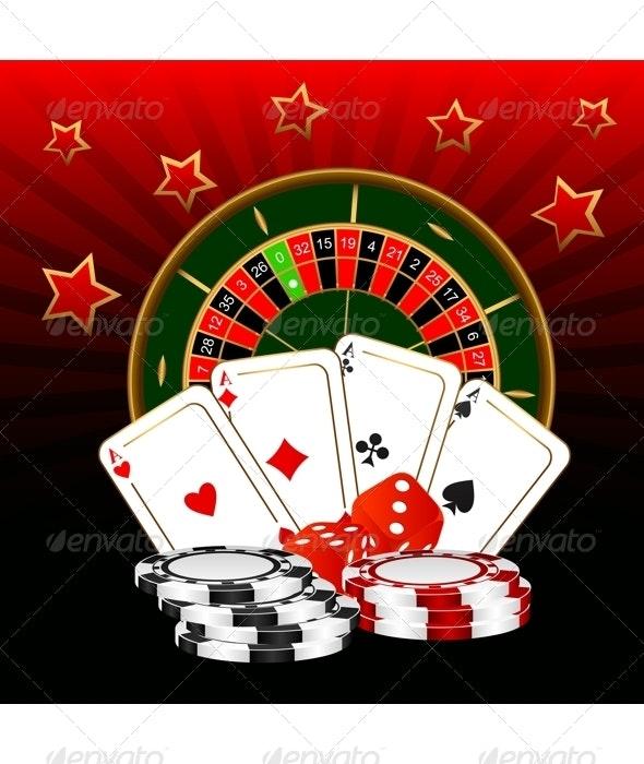 Casino. - Backgrounds Decorative