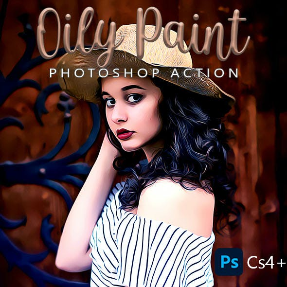 Oily Paint Photoshop Action