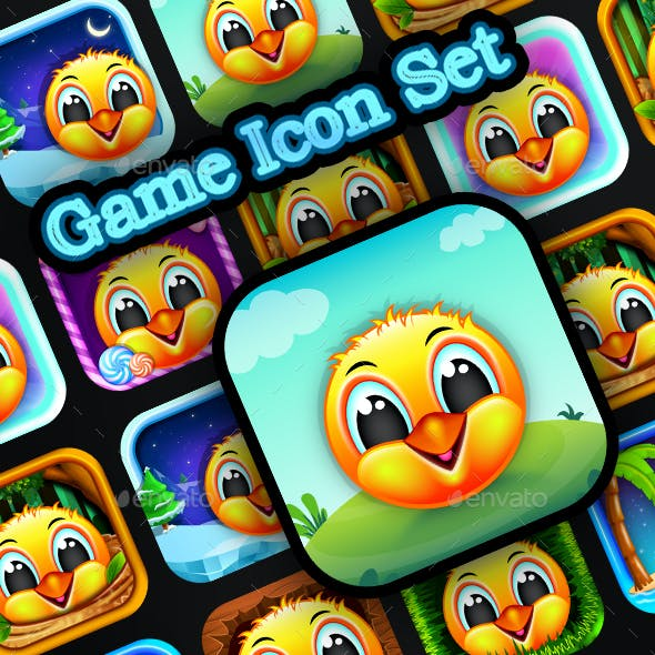 Cartton_Game_Icon_Set