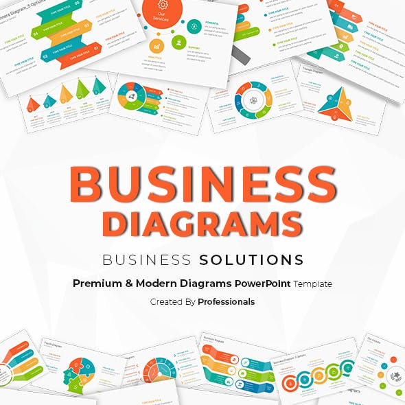 Business Diagrams Infographics PowerPoint Template