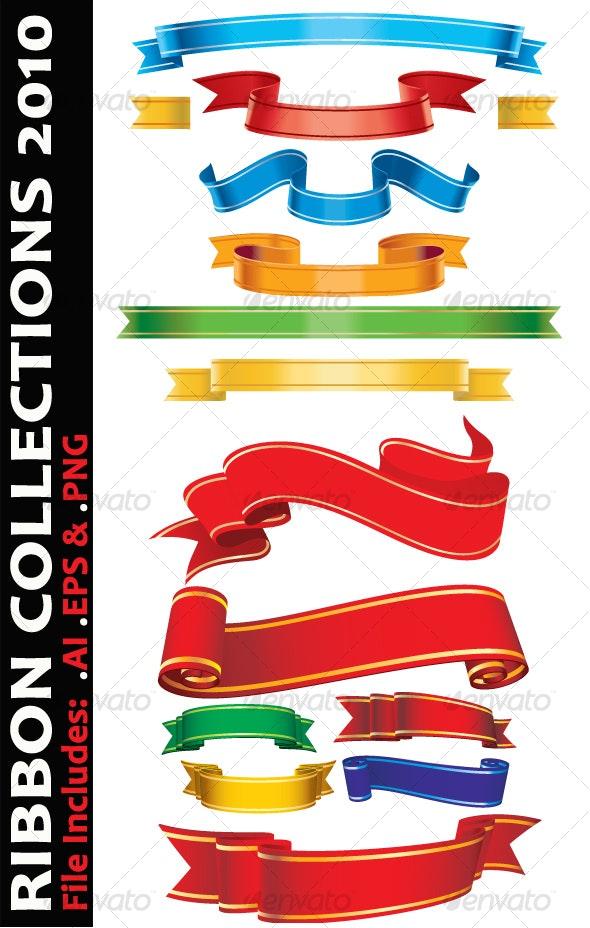 Ribbon Collections 2010 - Decorative Symbols Decorative