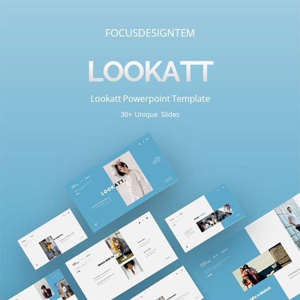 Lookatt Powerpoint Template