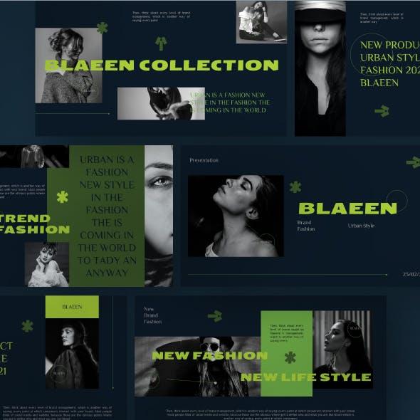 BLAEEN - Brand Powerpoint Template