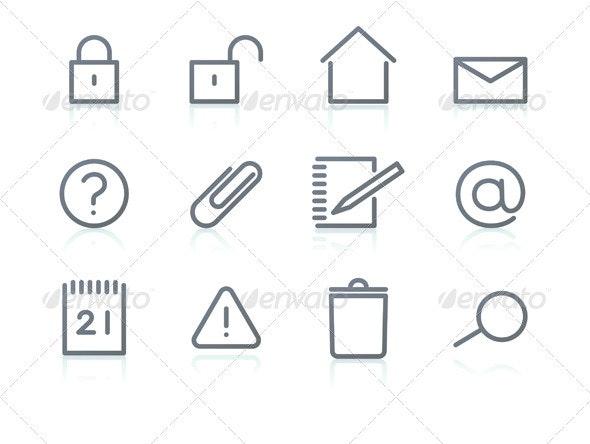 Icon set - Technology Conceptual