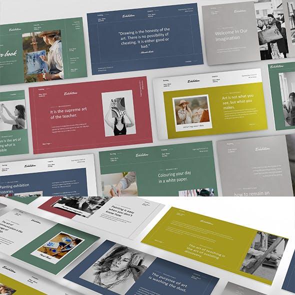 Colour Book Minimalist Keynote Presentation Template
