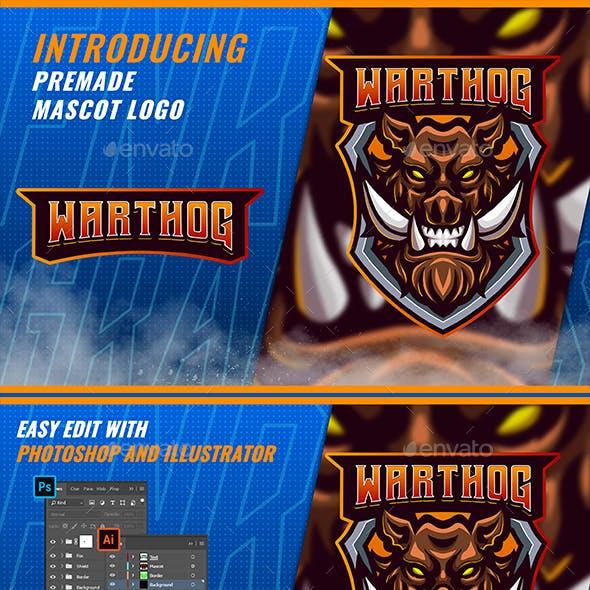 Mad Warthog - Mascot & Esport Logo