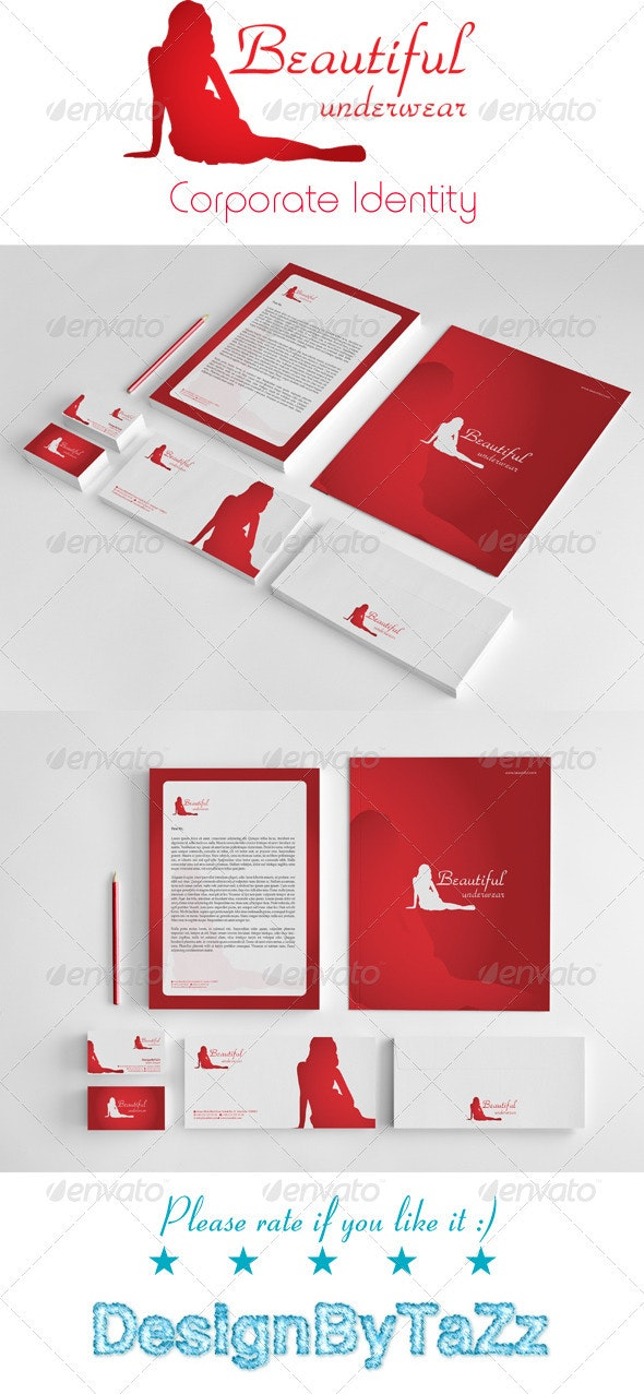 Beatiful Corporate Identity Package - Stationery Print Templates
