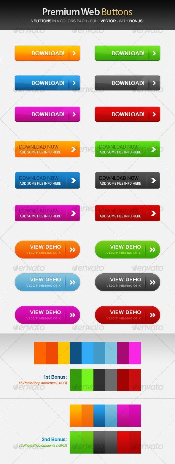 Premium Web Buttons