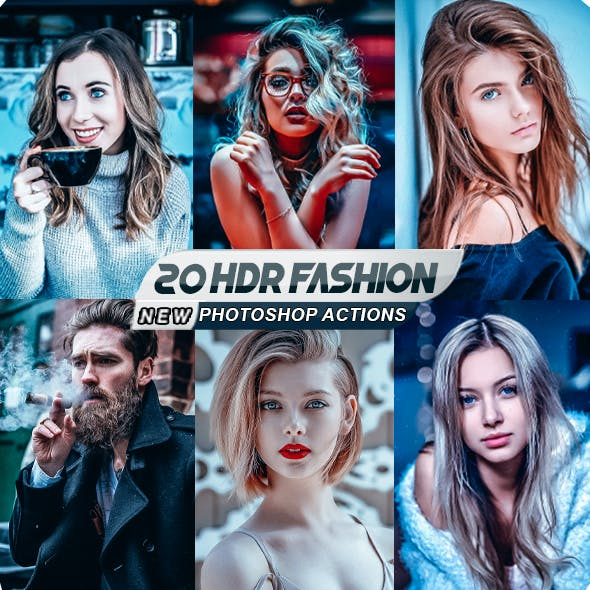 Fashion HDR Photoshop Actions
