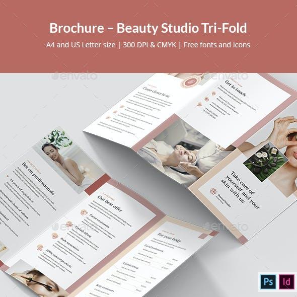 Brochure – Beauty Studio Tri-Fold