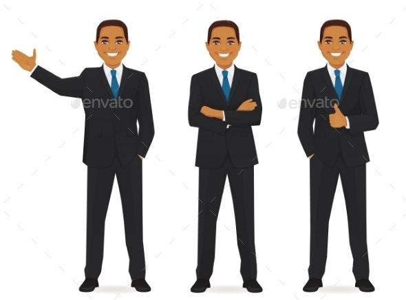 Set of Business Men - Miscellaneous Vectors