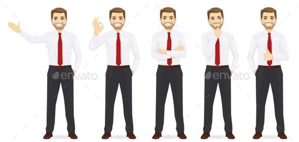 Business Man Set - Concepts Business