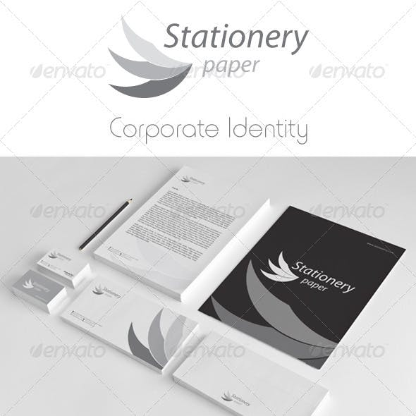 Stationery Corporate Identity Package