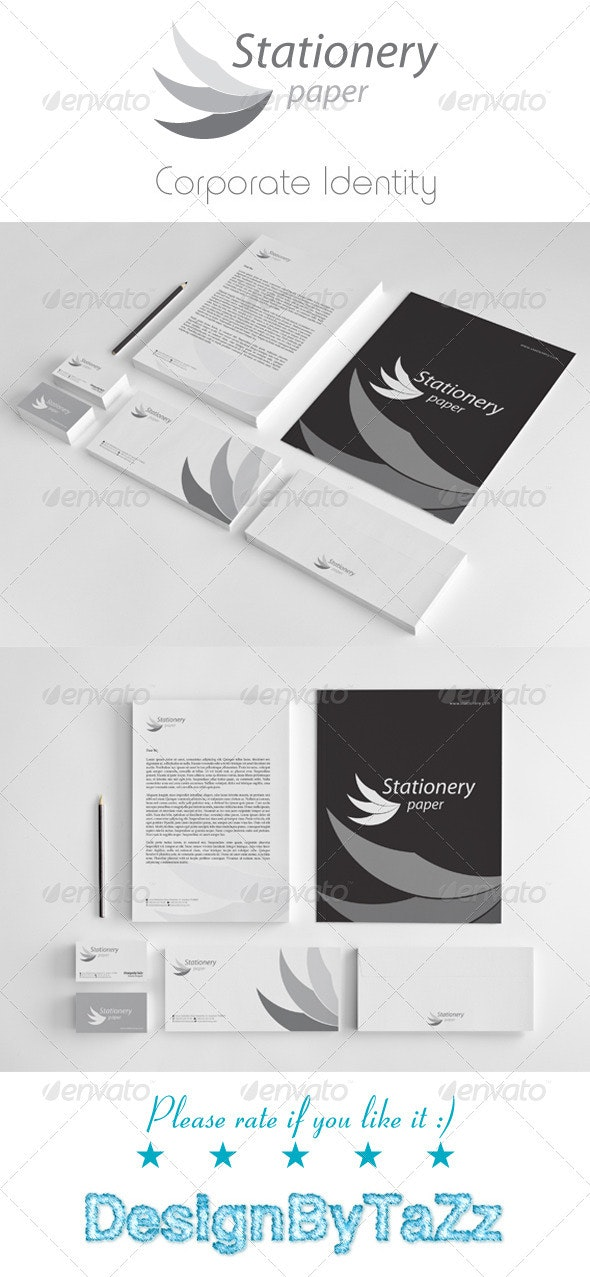 Stationery Corporate Identity Package - Stationery Print Templates