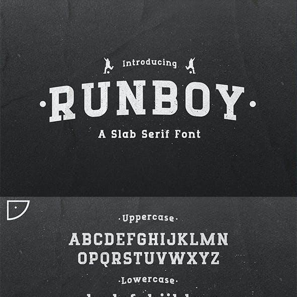 Runboy - Sport Slab Serif