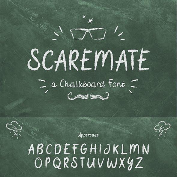 Scaremate - Hand Drawn Chalk