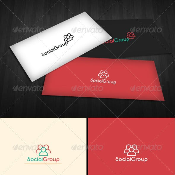 Social Group Logo Templates